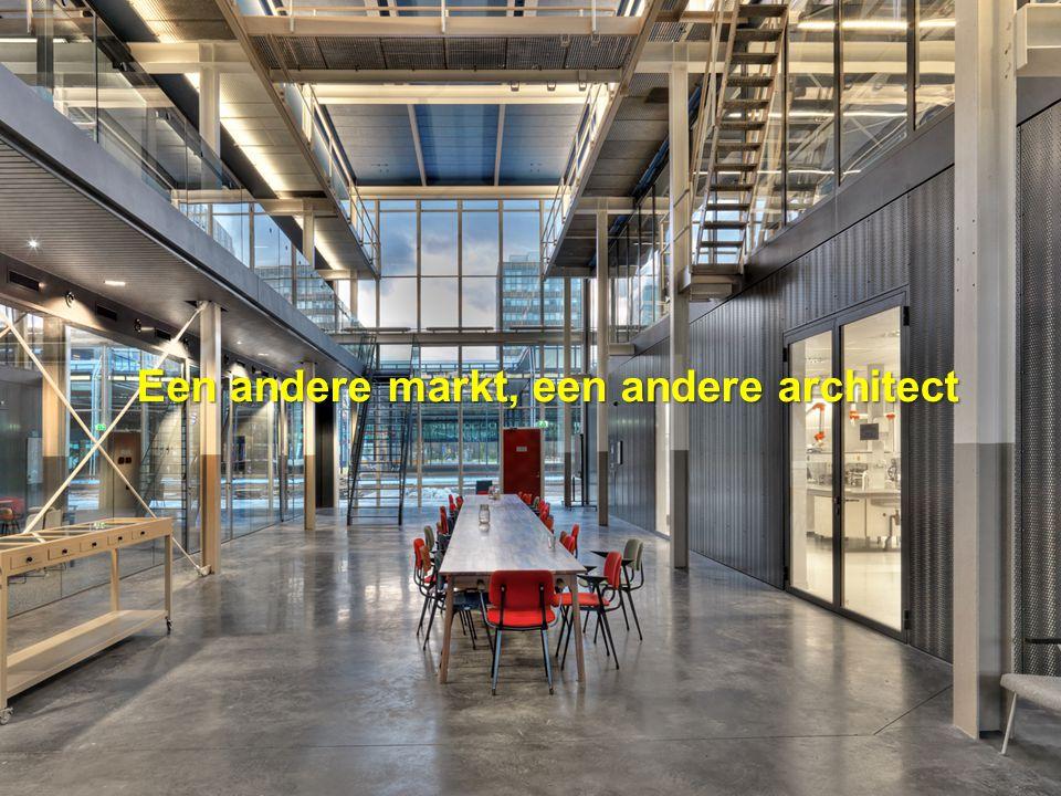 Een andere markt, een andere architect
