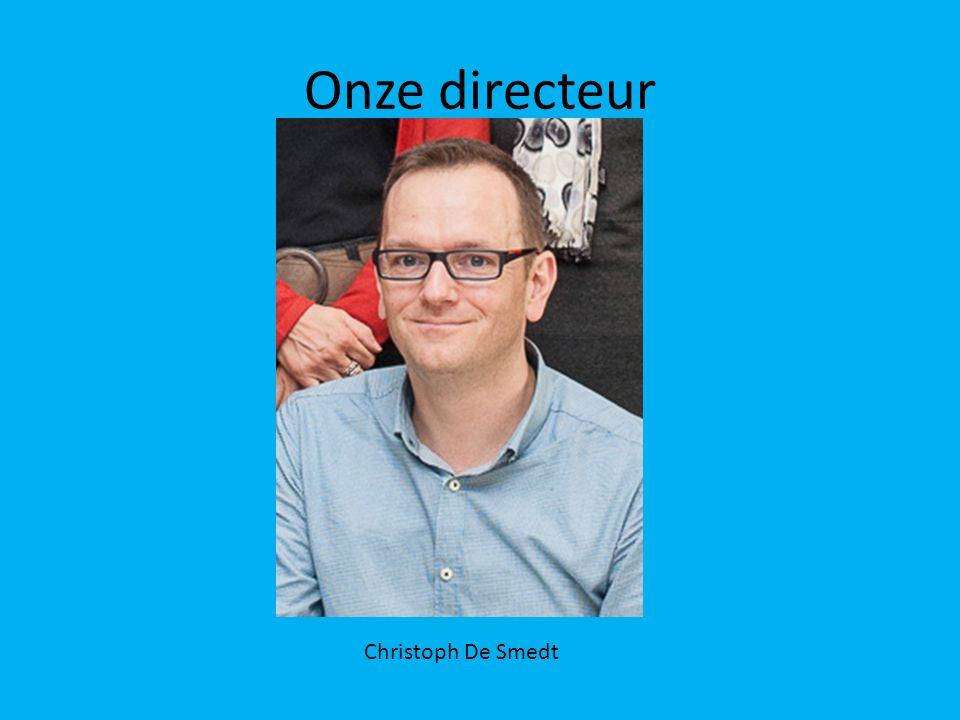Onze directeur Christoph De Smedt