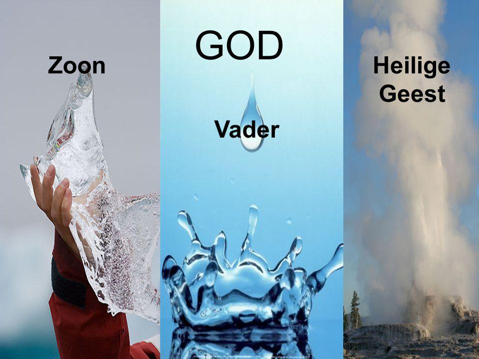 GOD Vader ZoonHeilige Geest