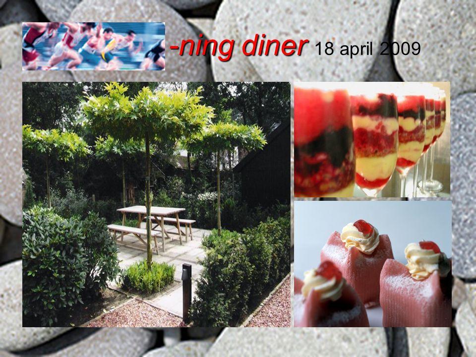 -ning diner -ning diner 18 april 2009