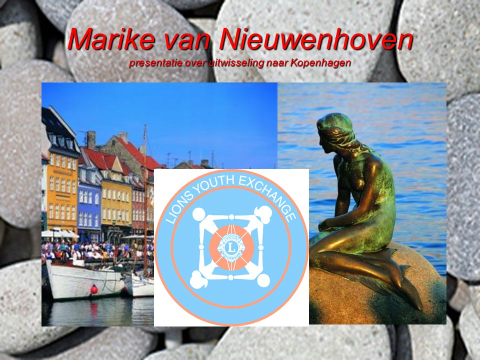 Marike van Nieuwenhoven presentatie over uitwisseling naar Kopenhagen