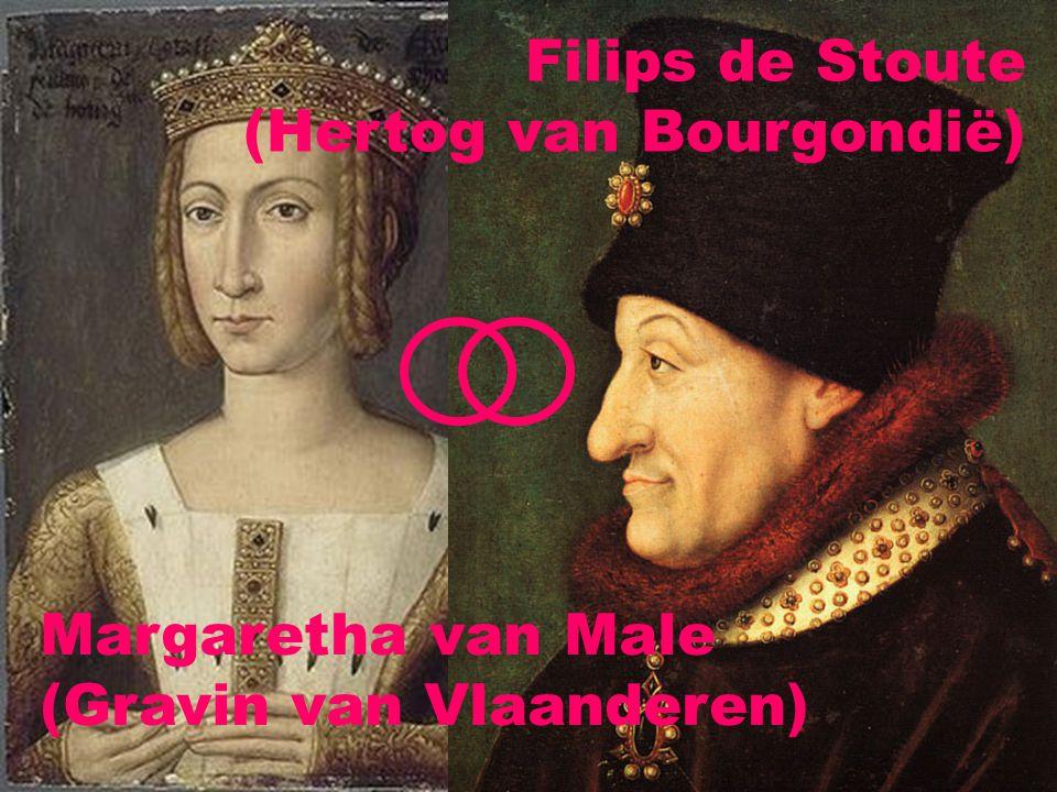 Margaretha van Male (Gravin van Vlaanderen) Filips de Stoute (Hertog van Bourgondië)