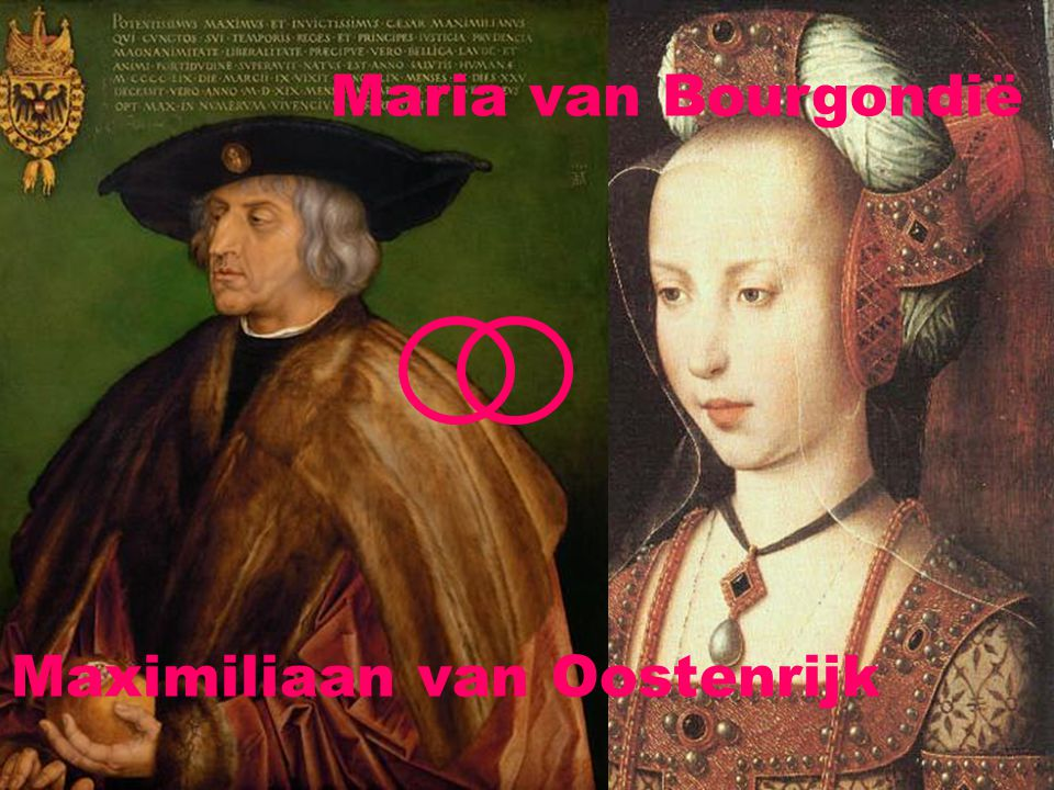 Maximiliaan van Oostenrijk Maria van Bourgondië