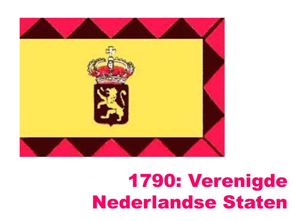 1790: Verenigde Nederlandse Staten