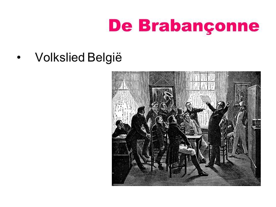 De Brabançonne Volkslied België
