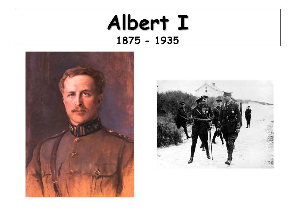 Albert I Albert I 1875 - 1935