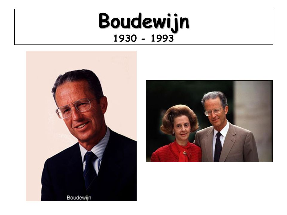 Boudewijn Boudewijn 1930 - 1993