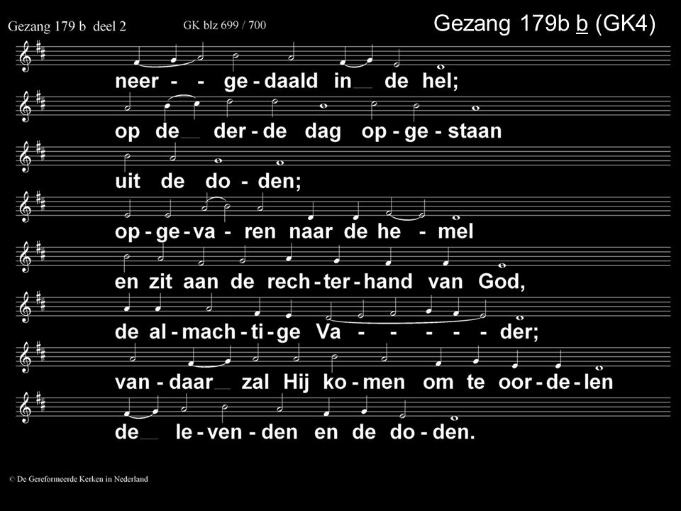 Gezang 179b b (GK4)