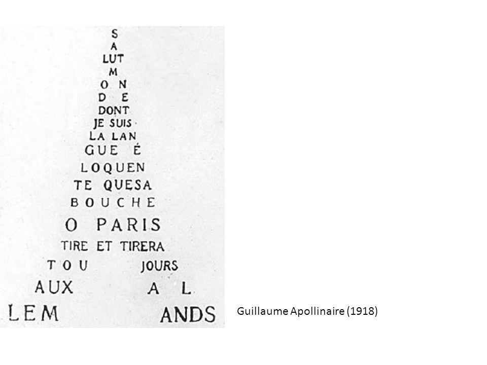 Guillaume Apollinaire (1918)