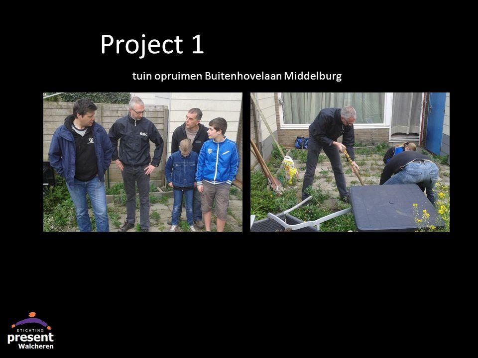 tuin opruimen Buitenhovelaan Middelburg Project 1