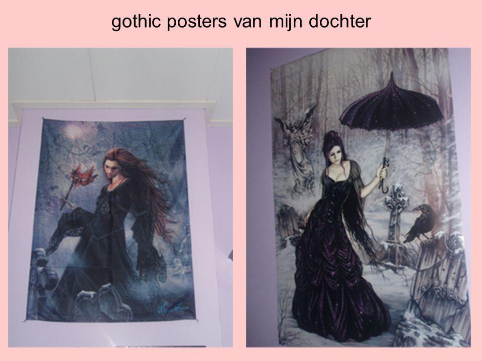 gothic posters van mijn dochter