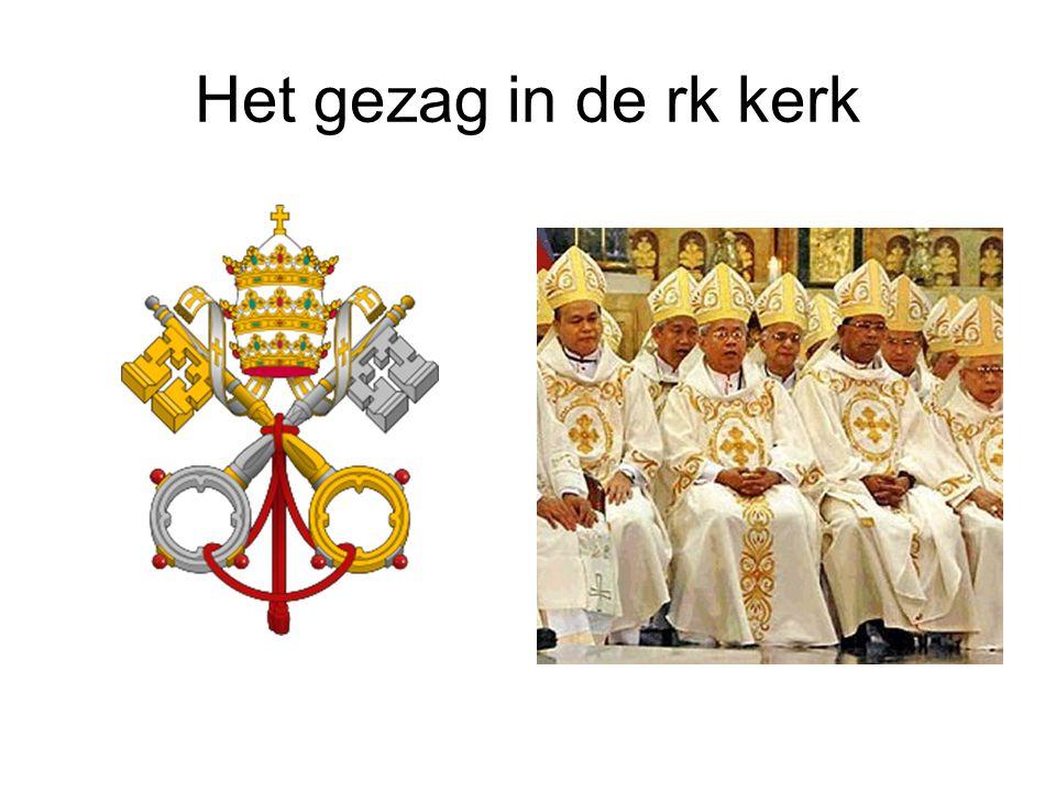 Het gezag in de rk kerk
