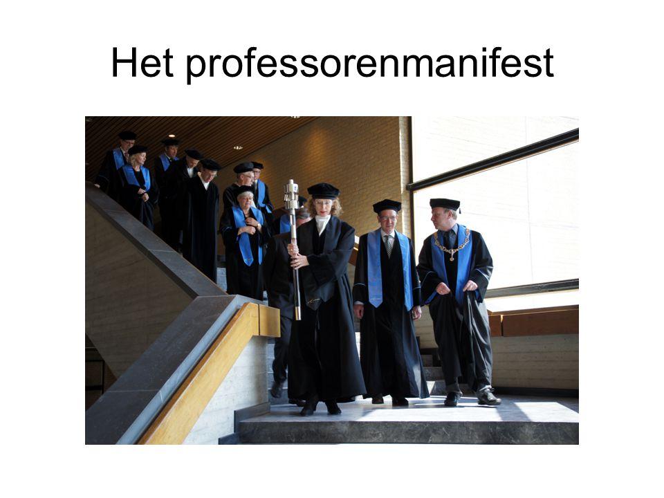 Het professorenmanifest
