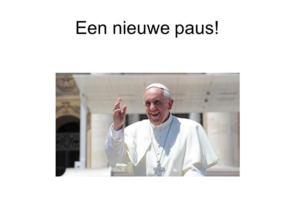 Een nieuwe paus!
