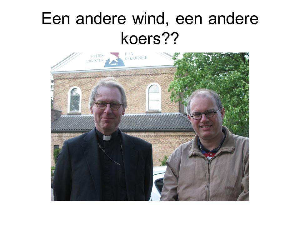 Een andere wind, een andere koers