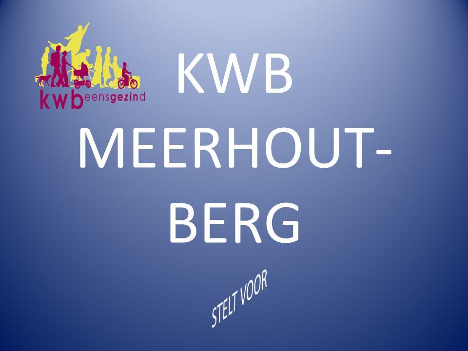 KWB MEERHOUT- BERG