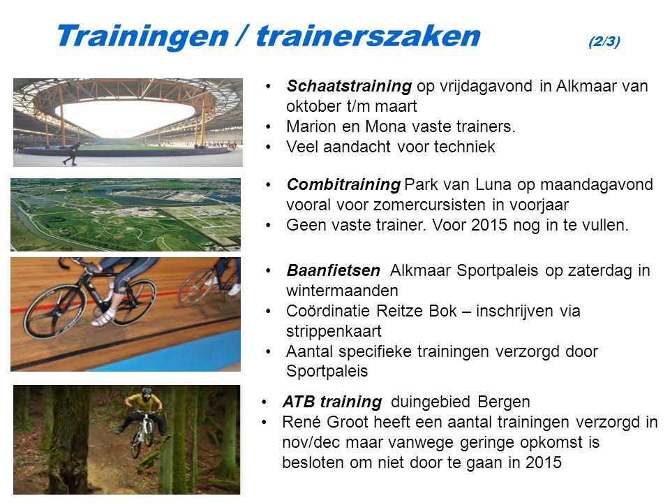 Schaatstraining op vrijdagavond in Alkmaar van oktober t/m maart Marion en Mona vaste trainers.