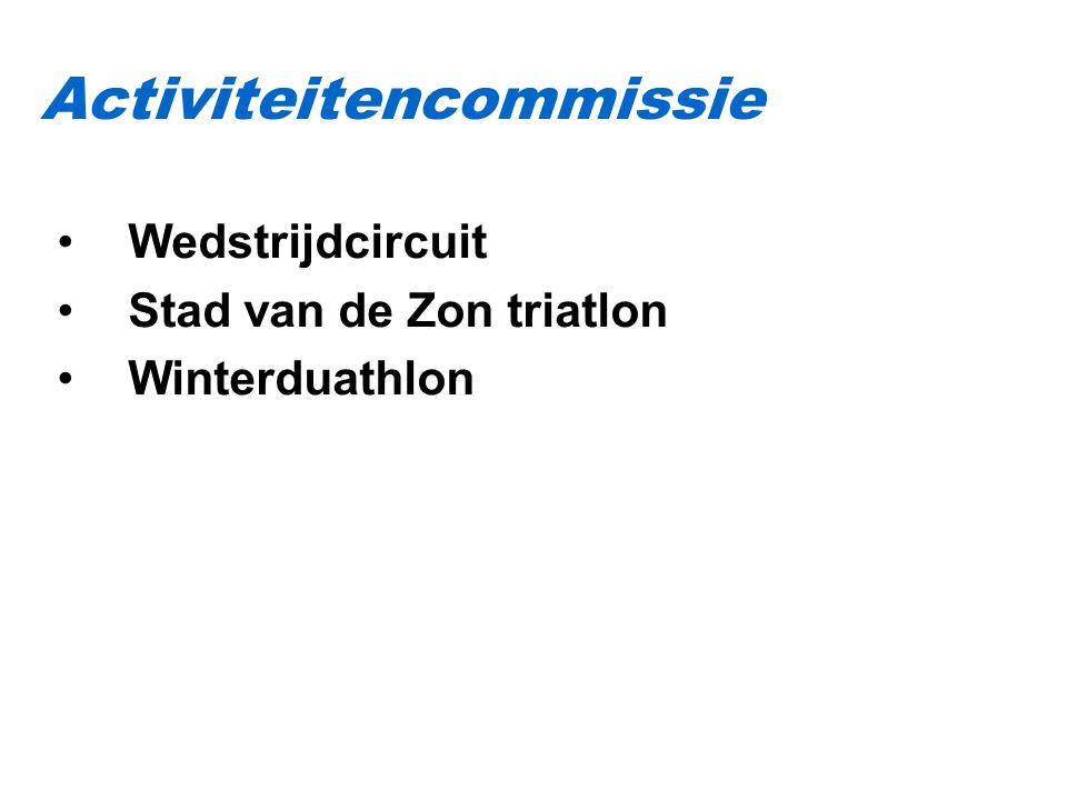Wedstrijdcircuit Stad van de Zon triatlon Winterduathlon Activiteitencommissie