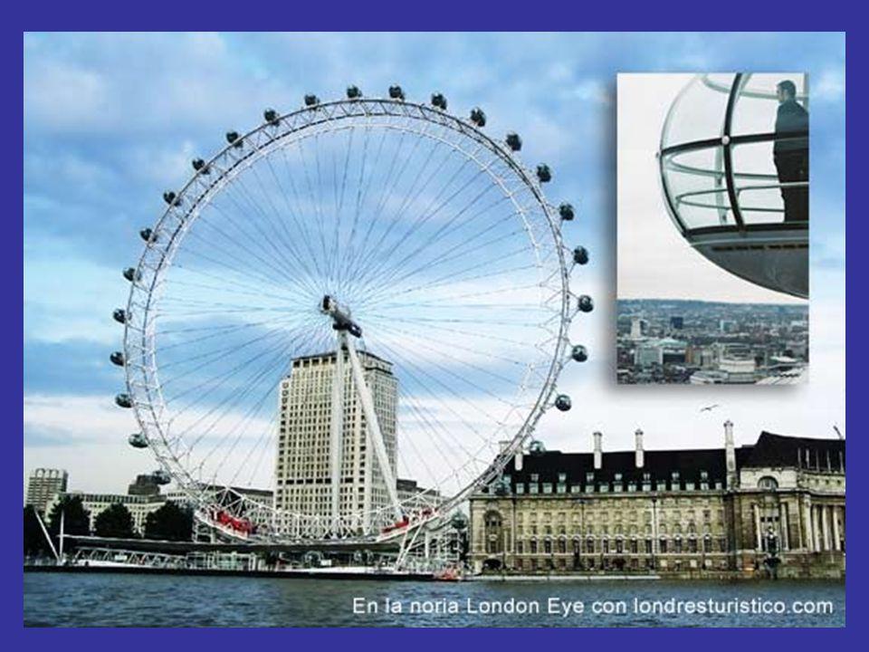 Het oog van Londen is gebouwd in 2000 ter viering va het millenium, ze nam trots in een plaats in, in het centrum van Londen,langsde rivier de Teems en tegenover de Big Ben.