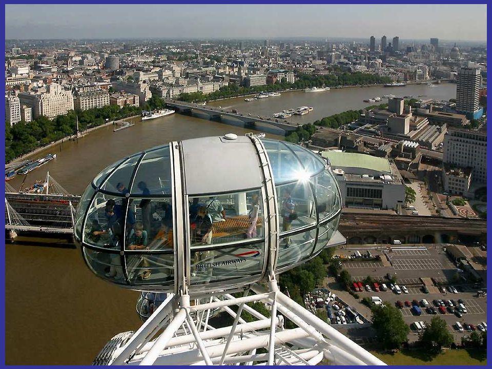 Tijdens een heldere dag kan men tot aan Heathrow en tot het kasteel van Windsor kijken.