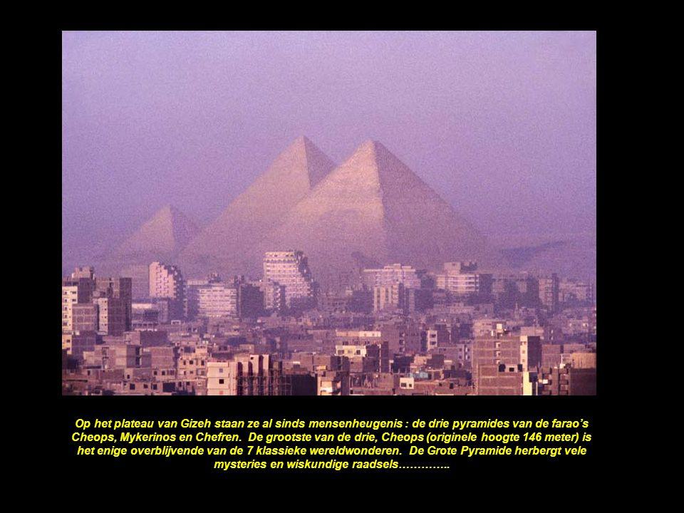 Volgens sommige archeologen werd de Cheops pyramide geen 2000 jaar V.C.