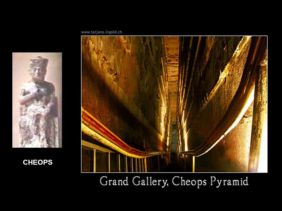 In In 1993 ontdekte de robot Upuaut van Rudolf Gansenbrink een deur met twee ijzeren sloten in één van de schachten van de pyramide.