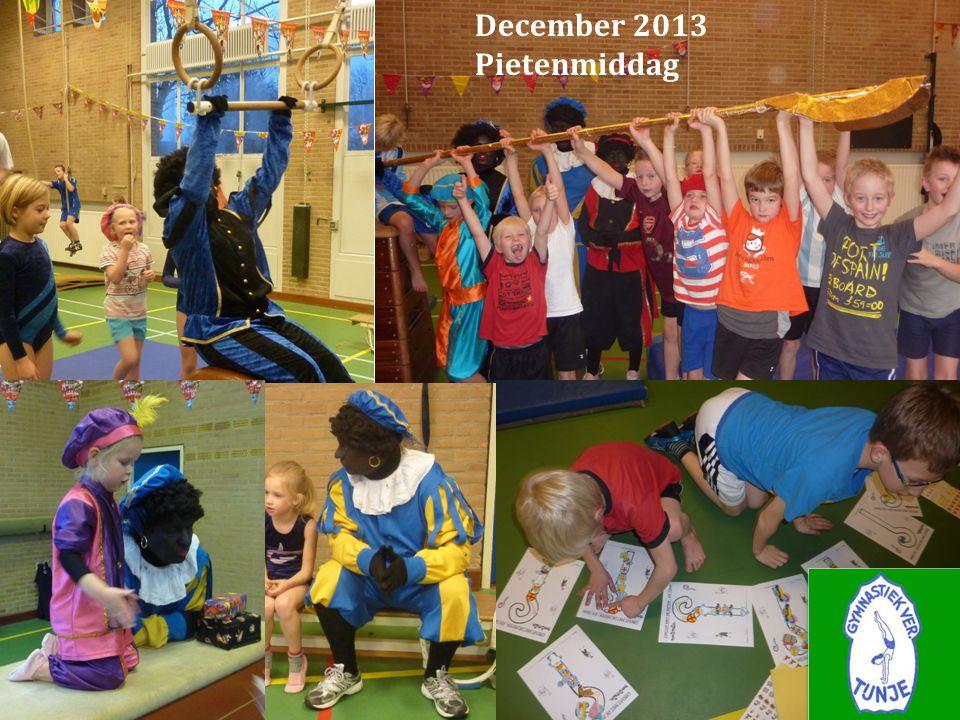 December 2013 Pietenmiddag Jaarverslag seizoen 2013-2014