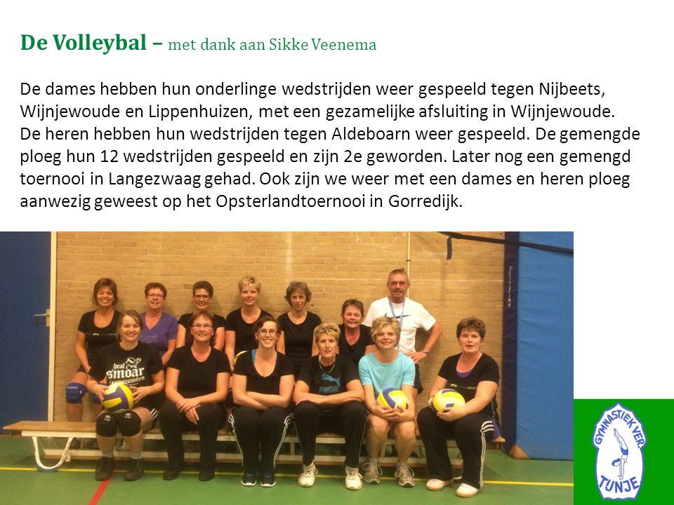 De Volleybal – met dank aan Sikke Veenema De dames hebben hun onderlinge wedstrijden weer gespeeld tegen Nijbeets, Wijnjewoude en Lippenhuizen, met ee