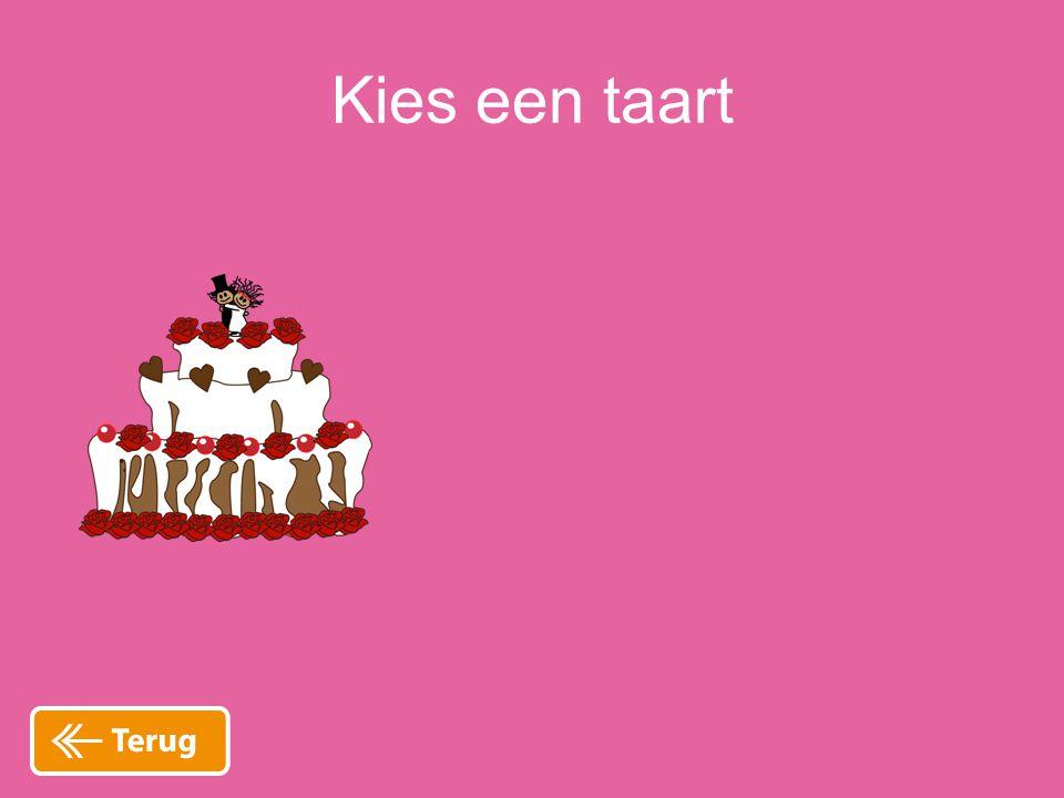Kies een taart