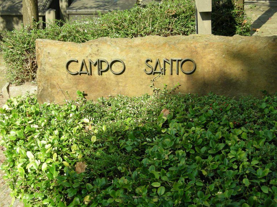 Exarte - Campo Santo - September 2014