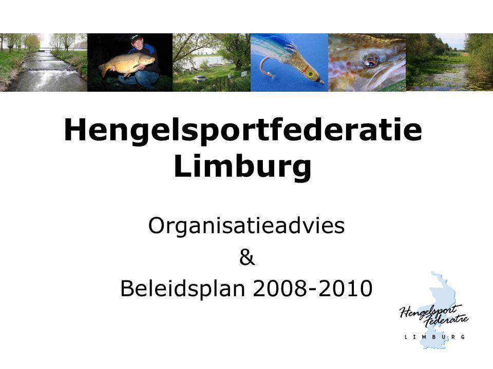 Hengelsportfederatie Limburg Organisatieadvies & Beleidsplan 2008-2010