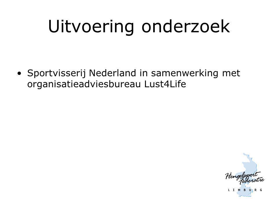 Uitvoering onderzoek Sportvisserij Nederland in samenwerking met organisatieadviesbureau Lust4Life