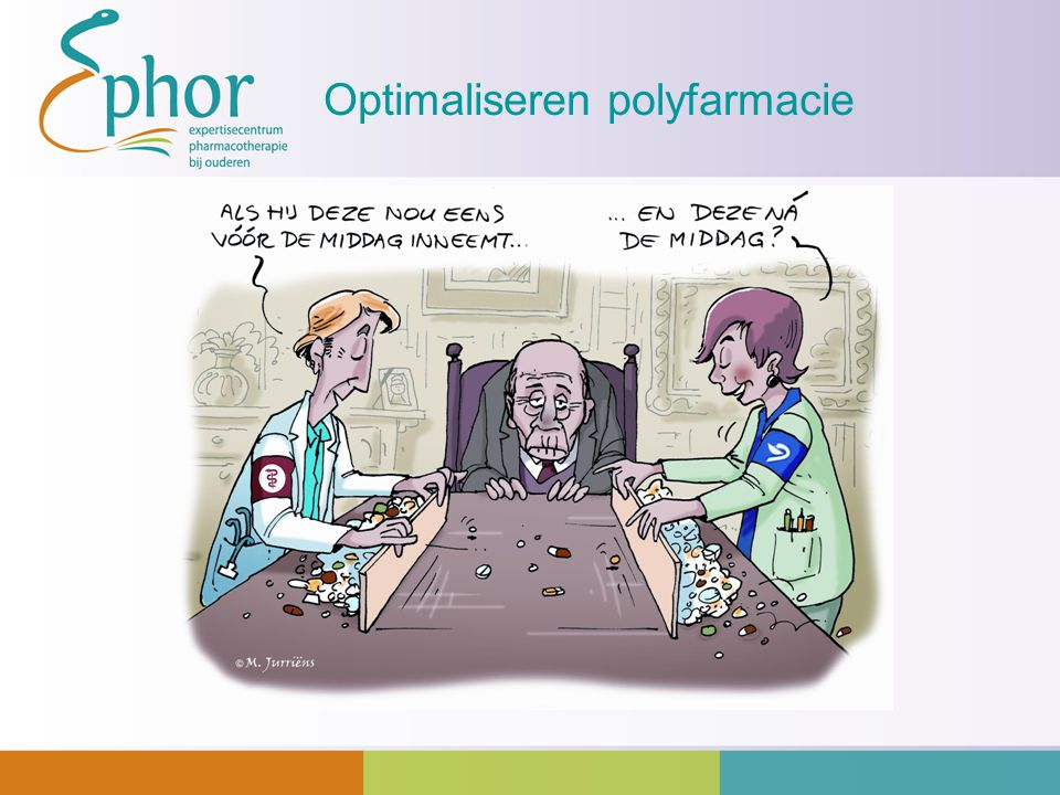 Optimaliseren polyfarmacie