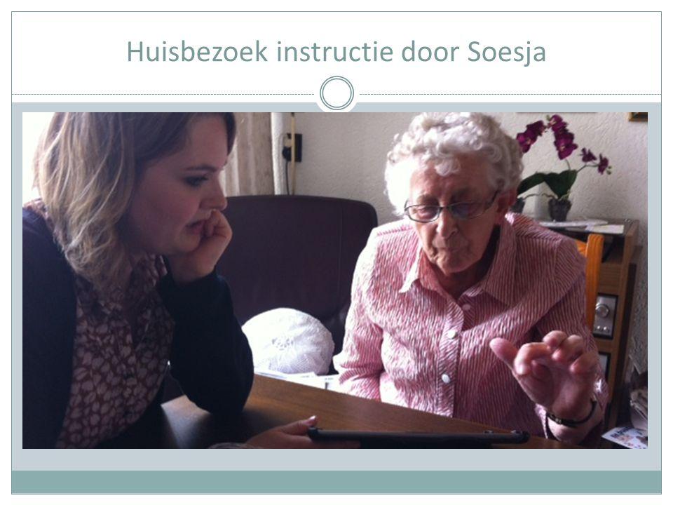 Huisbezoek instructie door Soesja