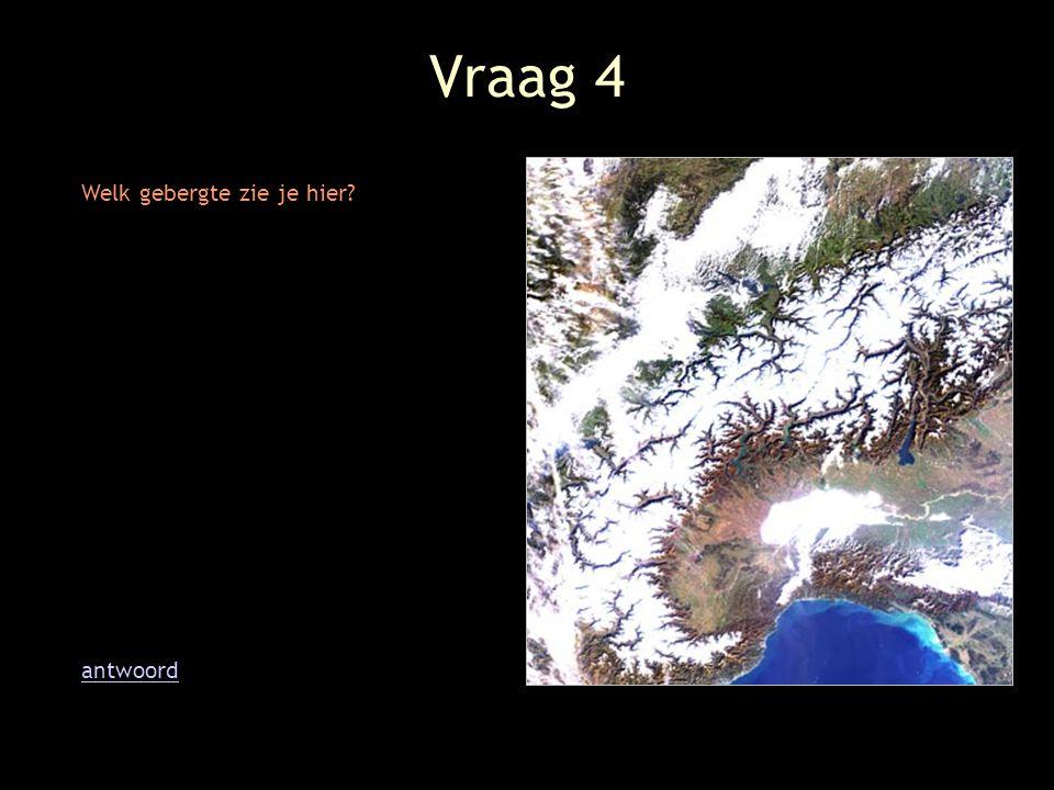 Vraag 5 Welke twee eilanden bevinden zich links onderaan in beeld? tipantwoord