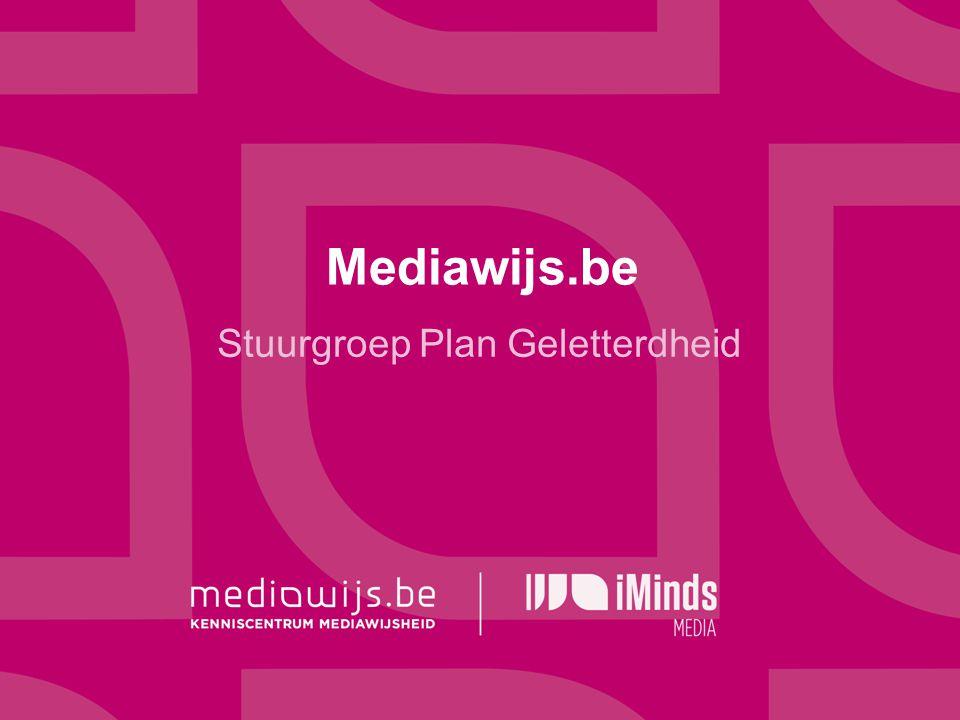 Mediawijs.be Stuurgroep Plan Geletterdheid