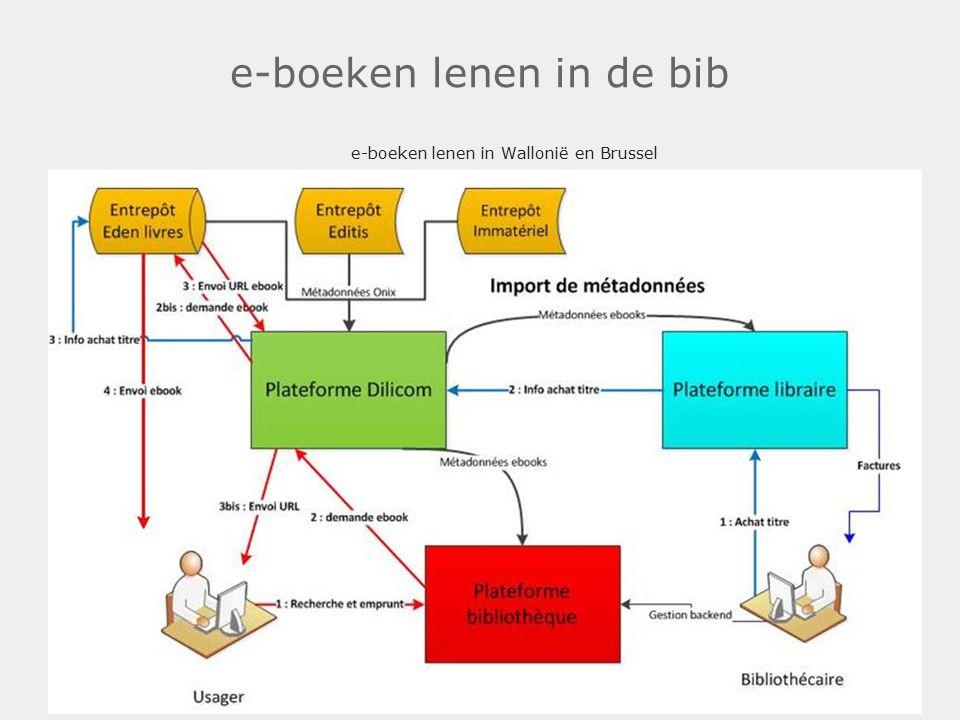 e-boeken lenen in de bib e-boeken lenen in Wallonië en Brussel.