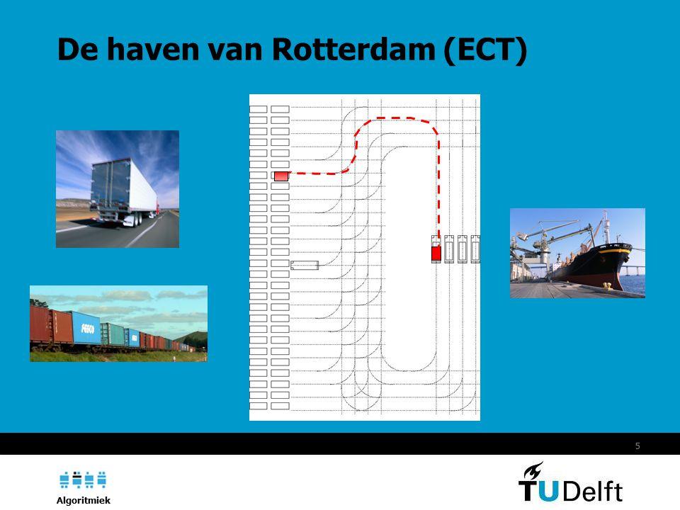 Algoritmiek 5 De haven van Rotterdam (ECT)