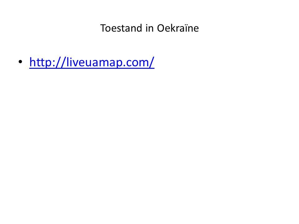 Toestand in Oekraïne http://liveuamap.com/
