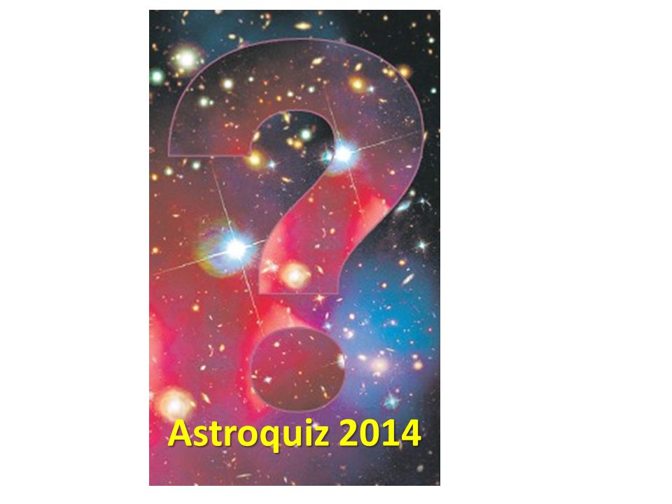 3 januari 2014 Astroquiz 2014