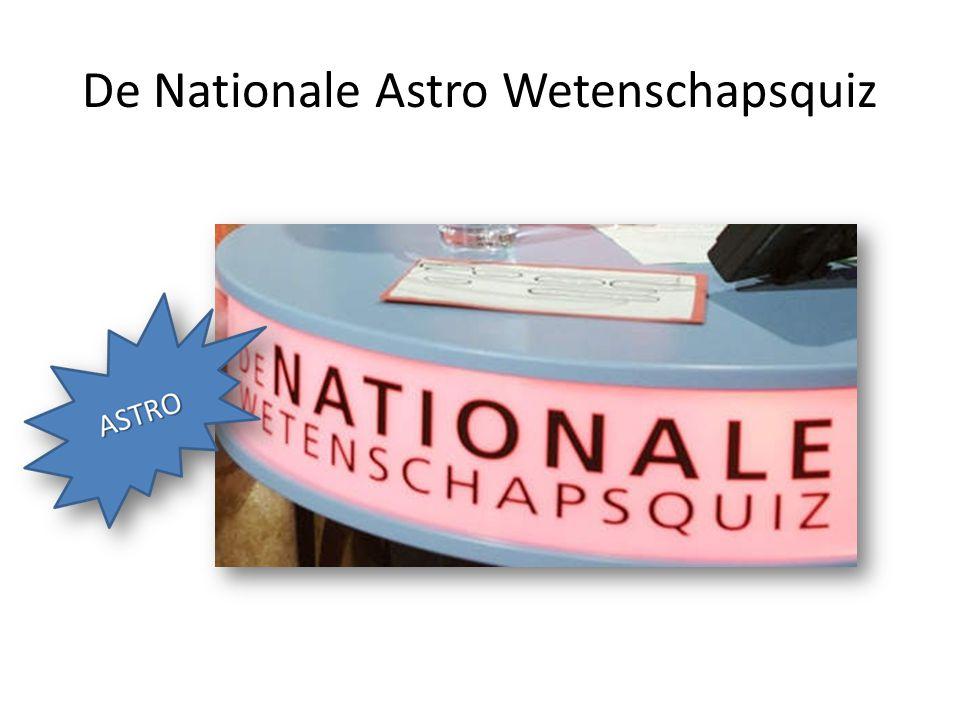 De Nationale Astro Wetenschapsquiz