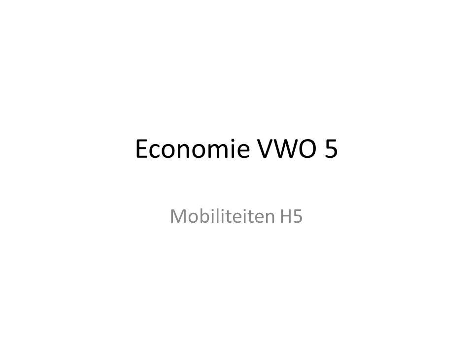 Economie VWO 5 Mobiliteiten H5