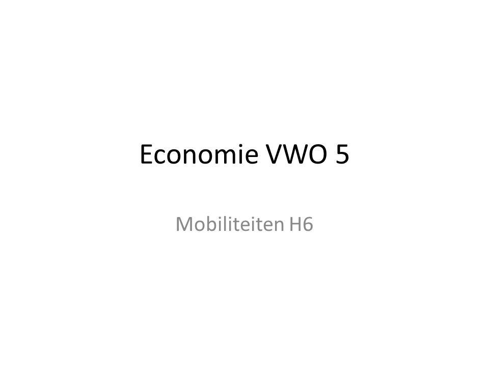 Economie VWO 5 Mobiliteiten H6