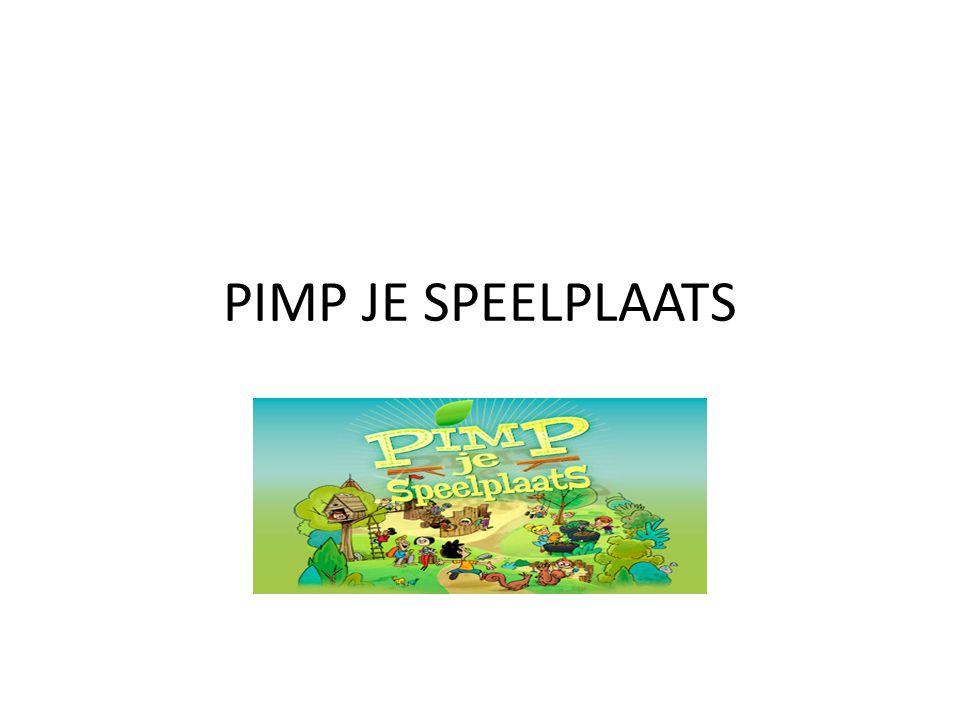 PIMP JE SPEELPLAATS