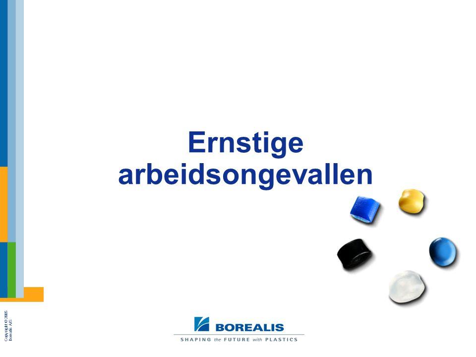 Copyright © 2005 Borealis A/S Ernstige arbeidsongevallen
