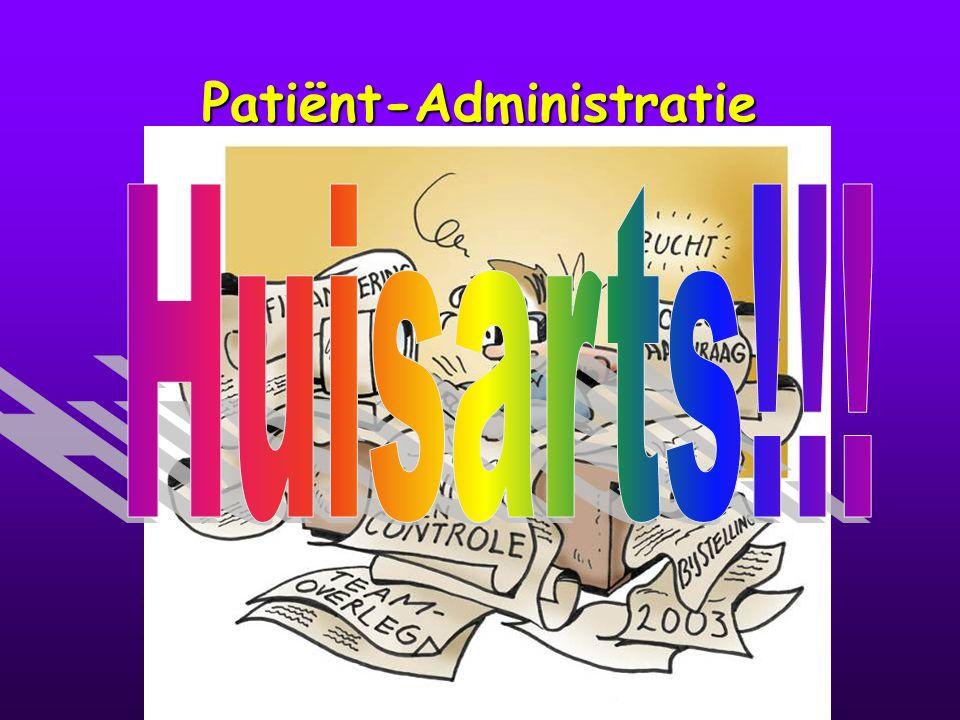 Patiënt-Administratie