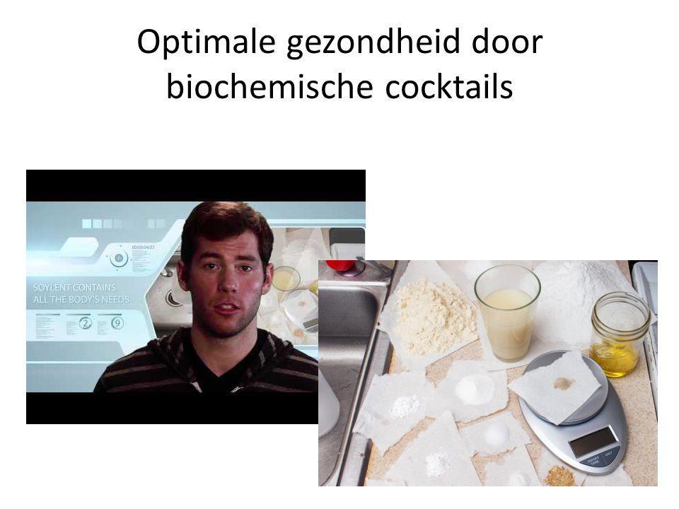 Optimale gezondheid door biochemische cocktails