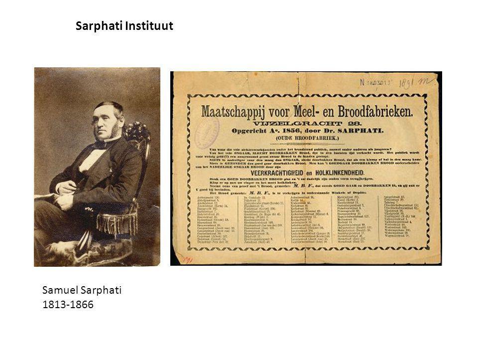 Samuel Sarphati 1813-1866 Sarphati Instituut