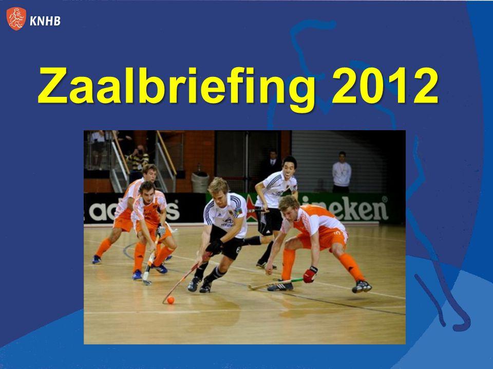 Zaalbriefing 2012