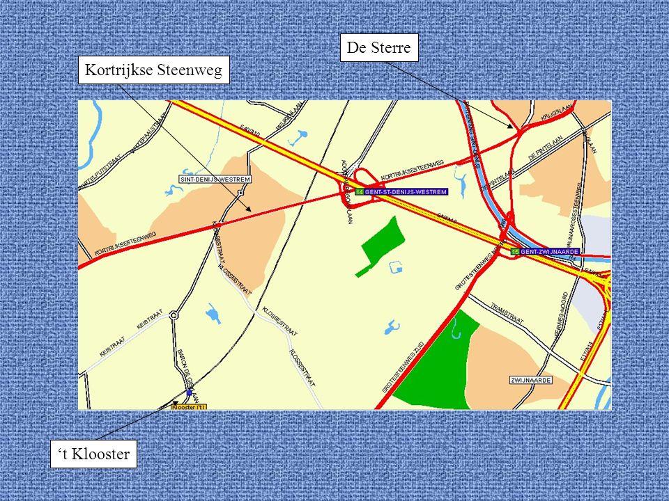 De Sterre 't Klooster Kortrijkse Steenweg